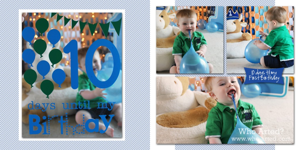 2011 Birthday Countdown 10