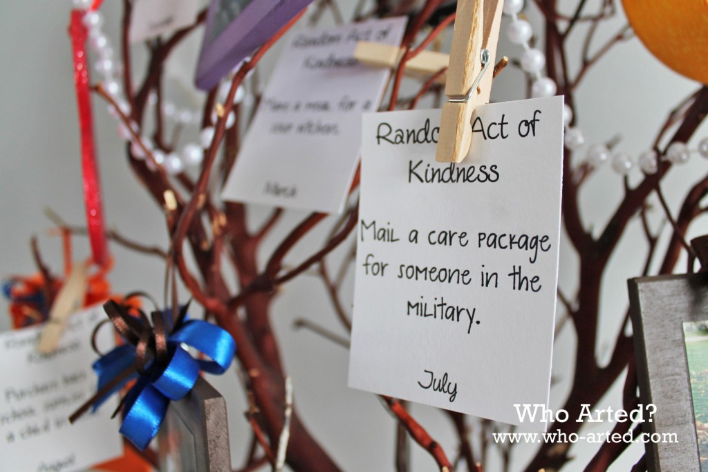 Random Acts of Kindness Tree 10