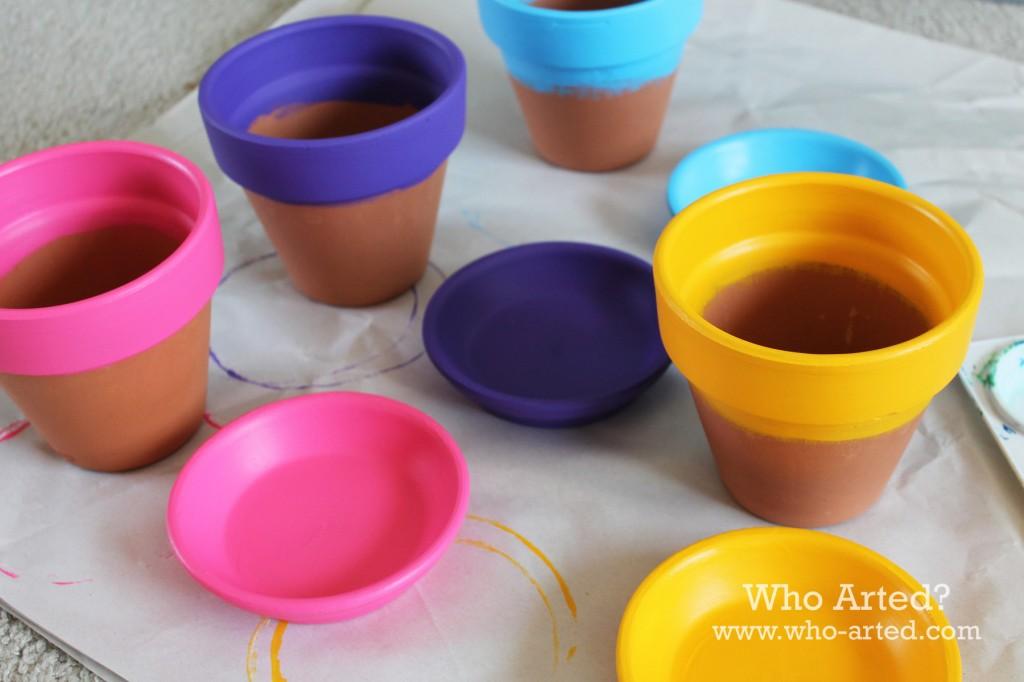 Chalkboard Flower Pots 02
