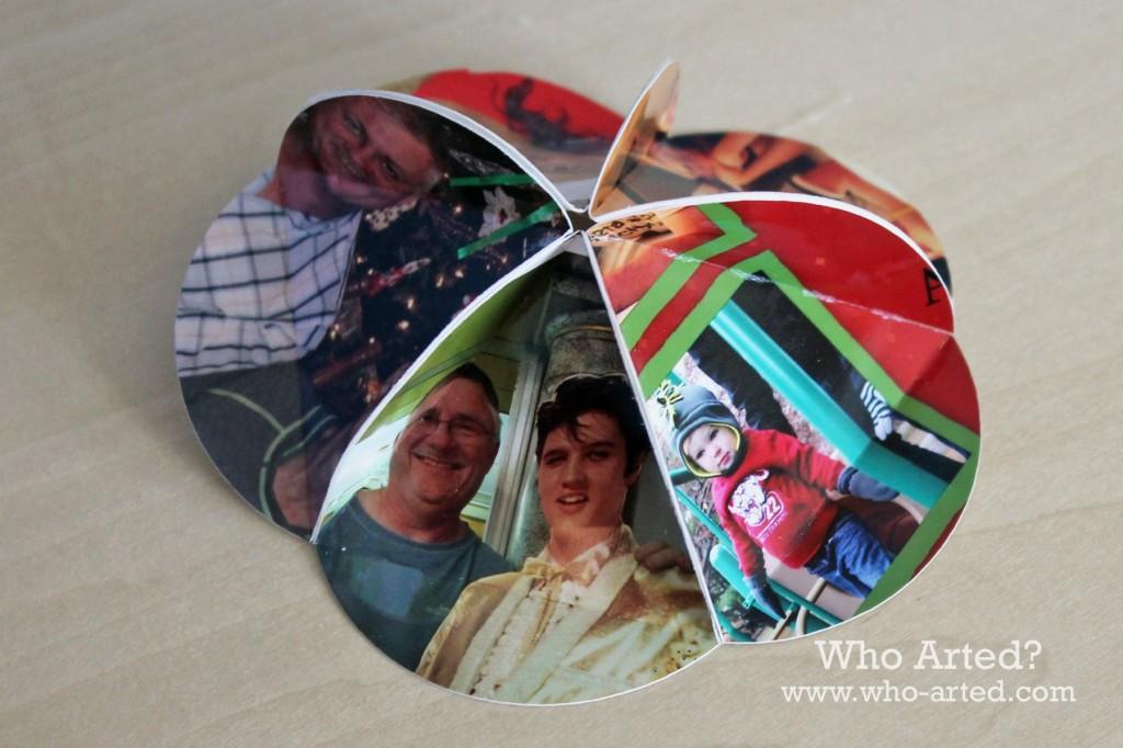 Christmas Card Ornament 05