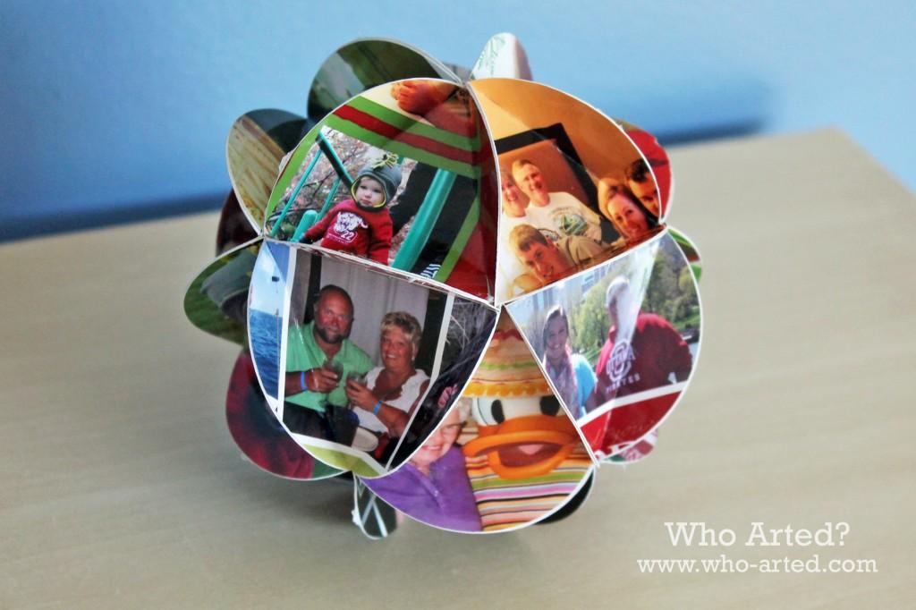 Christmas Card Ornament 12