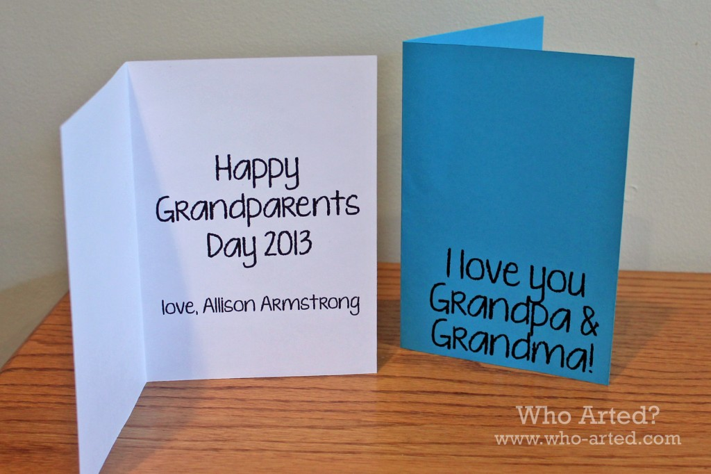 Grandparents Day Cards 04