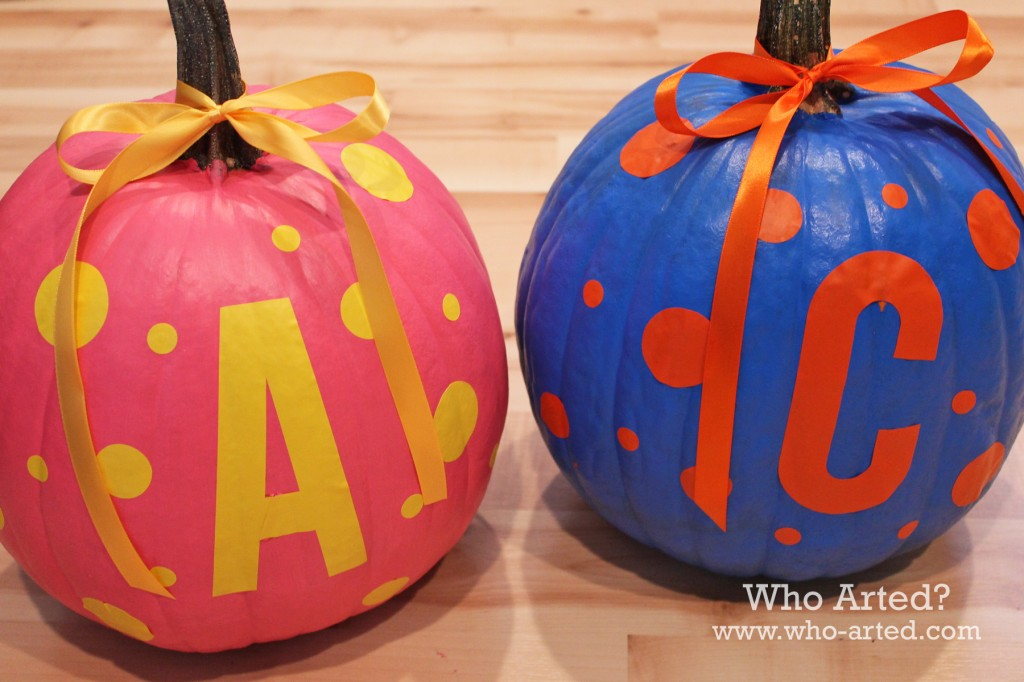 Paint and Stickers Pumpkin 03
