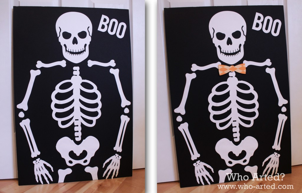 Pin the Bow on the Skeleton 04
