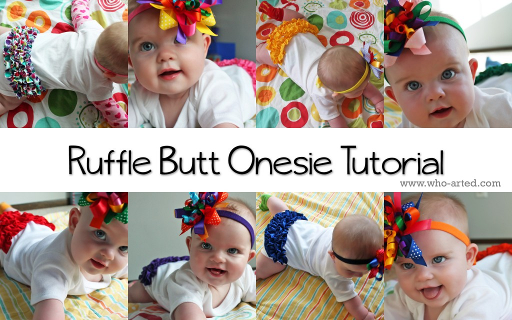 Ruffle Butt Onesie 42