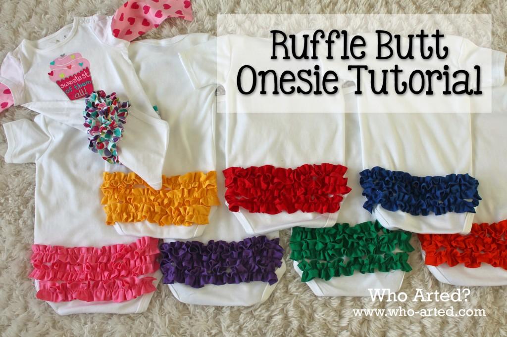 Ruffle Butt Onesie 43