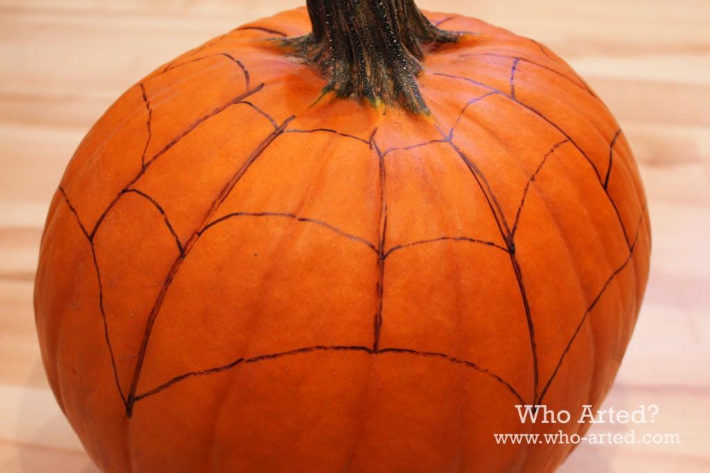 Spider Web Pumpkin 03