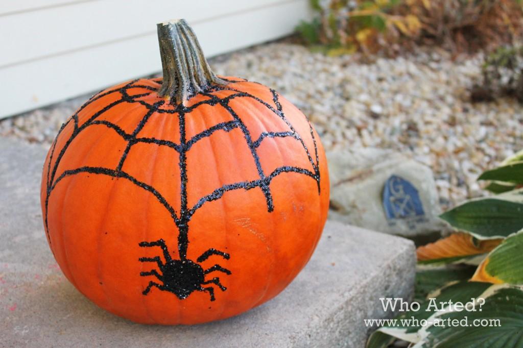 Spider Web Pumpkin 07