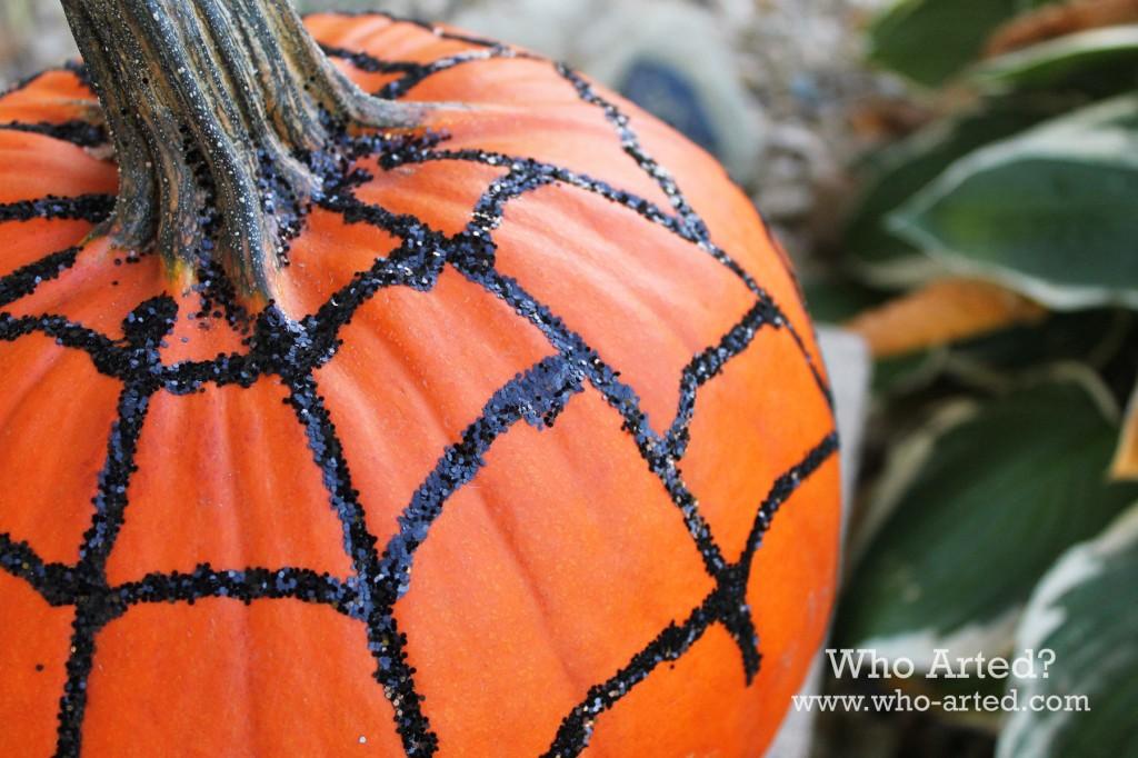 Spider Web Pumpkin 08