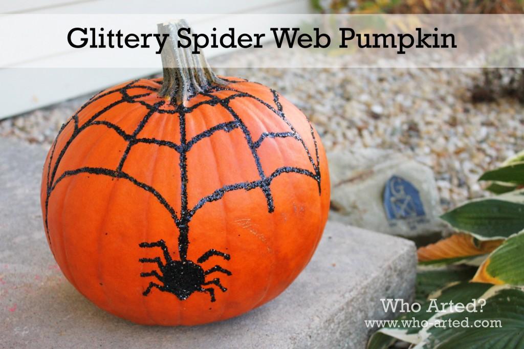 Spider Web Pumpkin 09