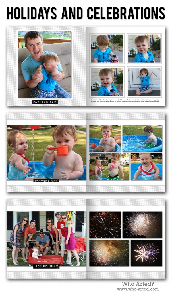 Yearly Photo Book, C1 Holidays and Celebrations