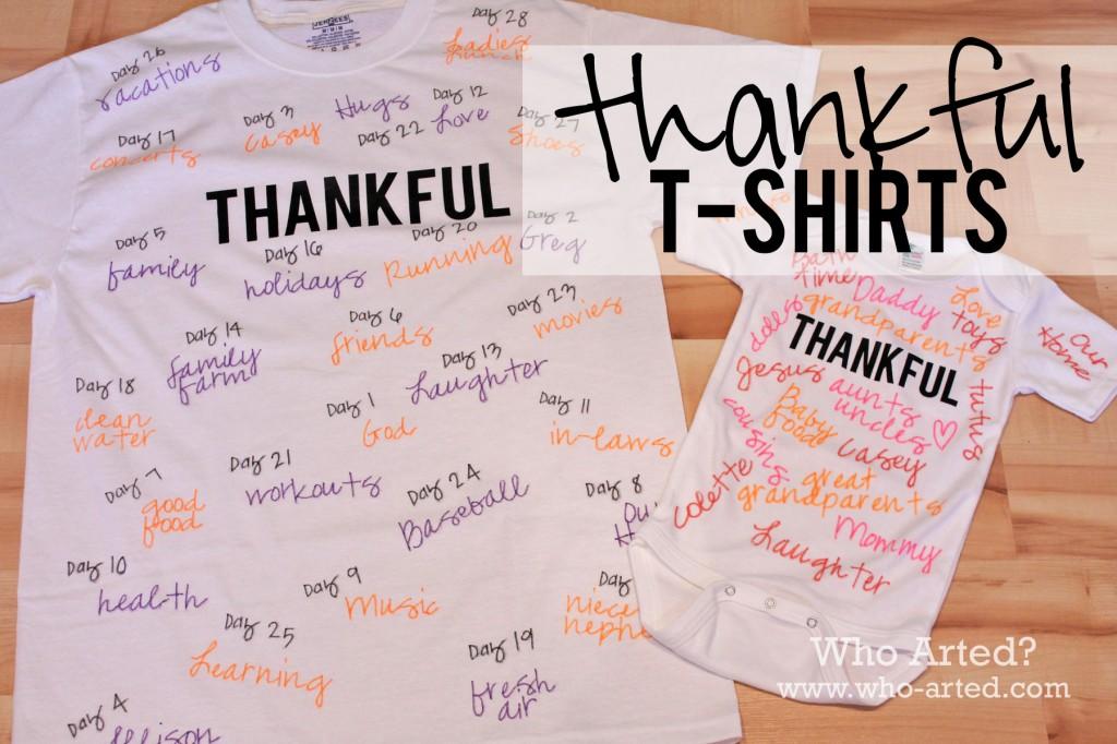 Thankful TShirt 00