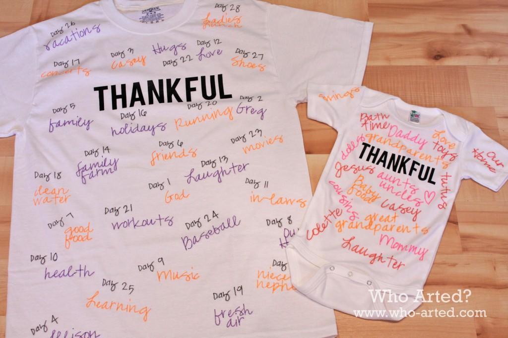 Thankful TShirt 01