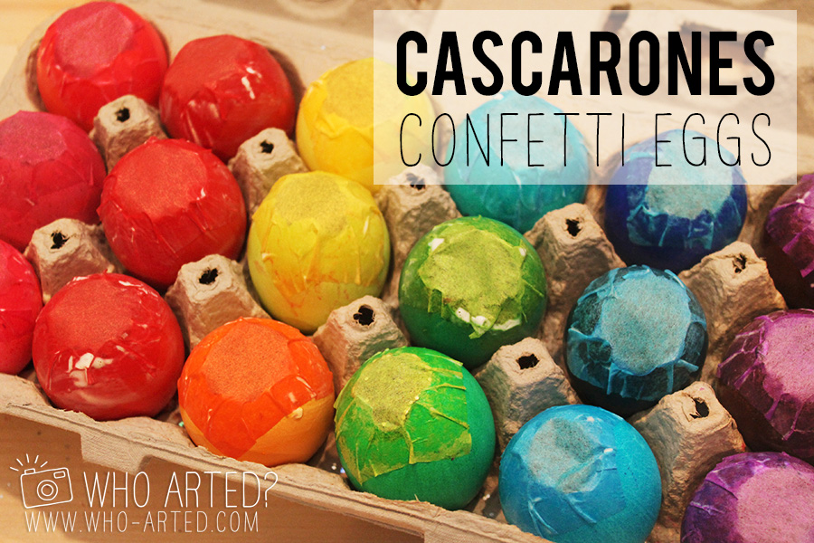 Cascarones Glitter Eggs Who Arted 00