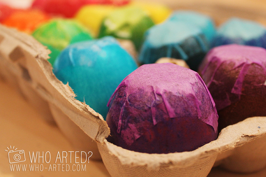 Cascarones Glitter Eggs Who Arted 04