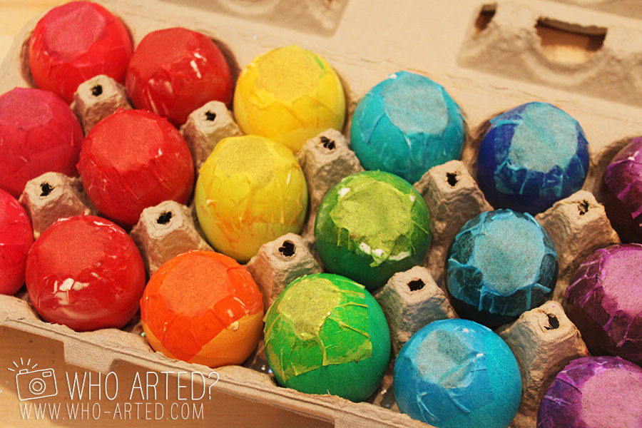Cascarones Glitter Eggs Who Arted 09