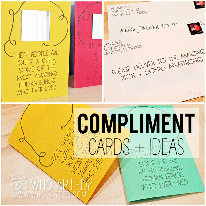 Say Something Nice Day Compliment Cards Who Arted 00