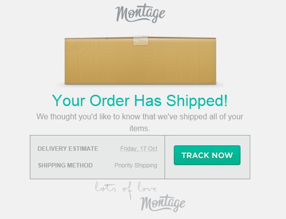 Shipping E-mail
