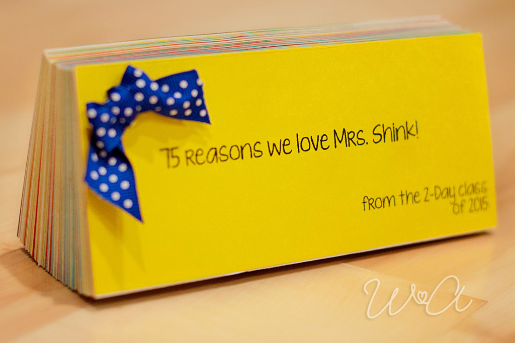 Teacher Appreciation Coupon Book