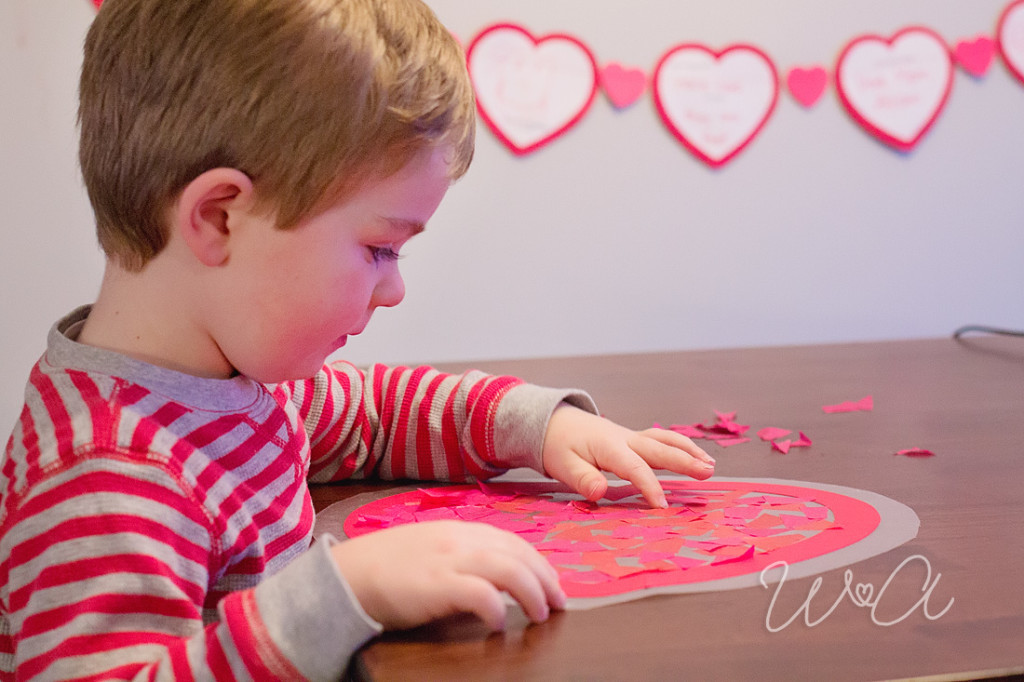 Valentine's Day Sun Catchers Who Arted