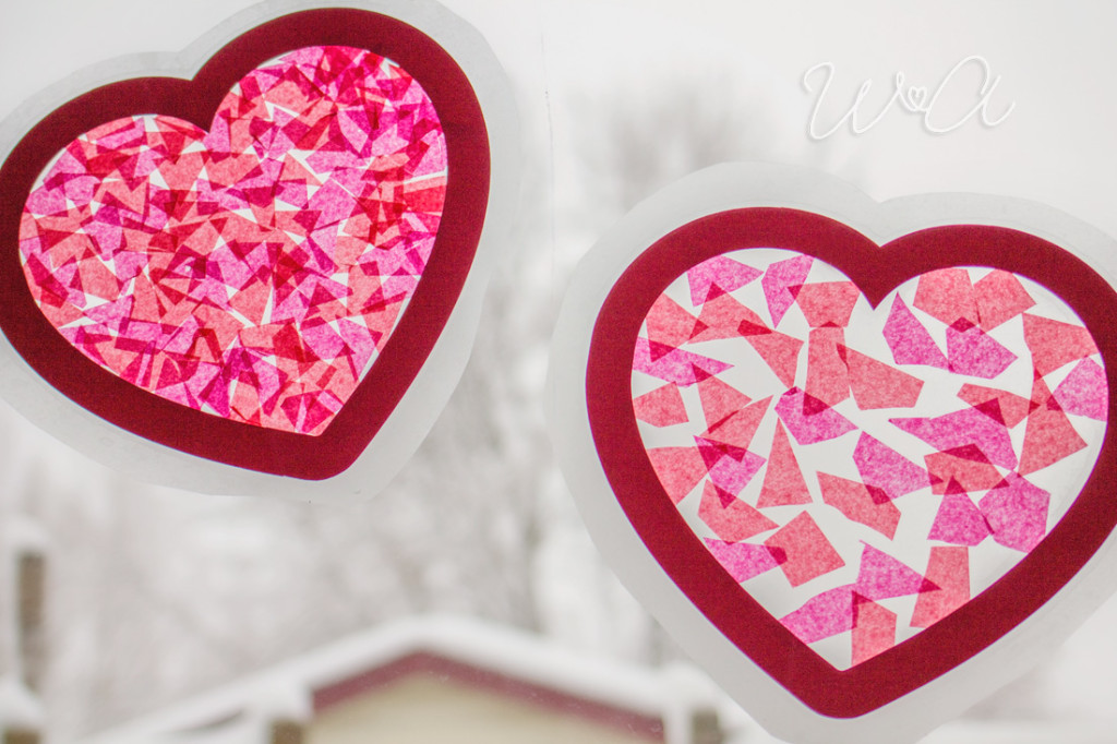 Valentine's Day Sun Catchers Who Arted 08