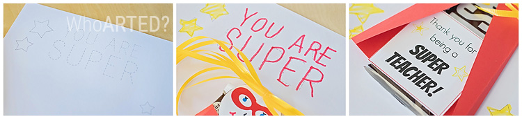 Teacher Appreciation Superhero