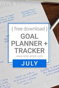 Goal Planner Tracker